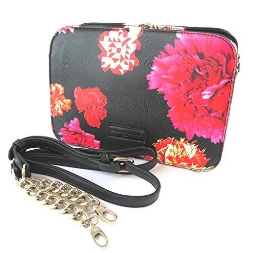 Bag designer 'Christian Lacroix'nero rosso - 24x17x9 cm.
