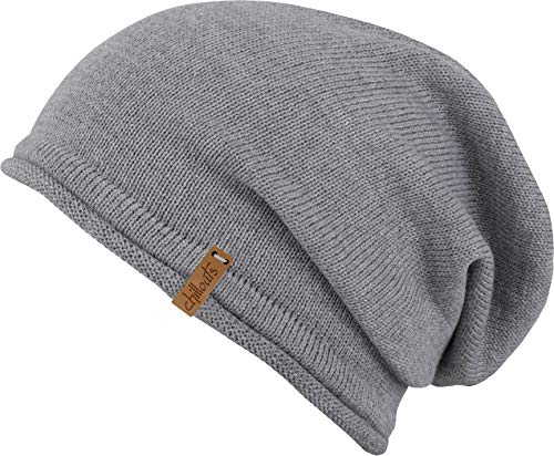 CHILLOUTS Unisex Mütze Leicester Hat hellgrau One Size