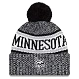New Era NFL Sideline 2018 Bobble Mütze Minnesota Vikings