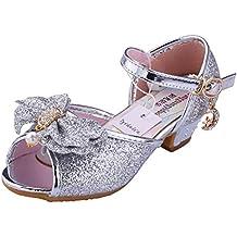 scarpe bambina con tacco