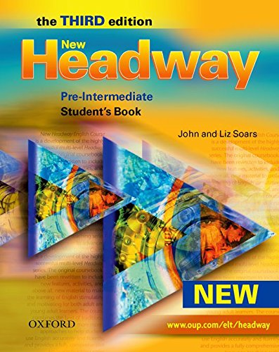 New Headway : Pre-Intermediate - Student's book par John Soars