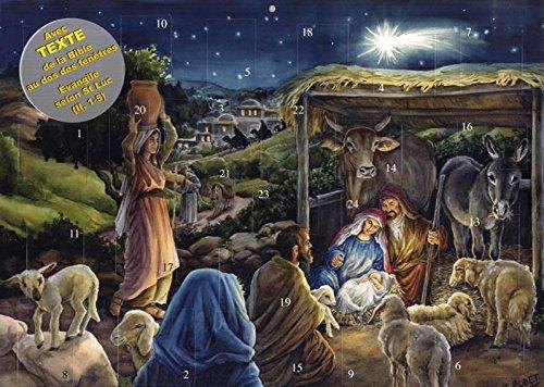 Calendrier de l'Avent, Jésus le Sauveur est n...