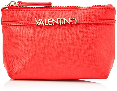 Mario Valentino Valentino by Damen Sea Ausweishülle, Rot (Rosso), 6.0x10.0x17.0 cm