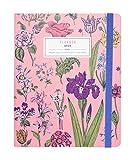 Erik - Agenda Premium Settimanale 2020, 17 mesi, 16,5x20 cm, copertina rosa floreale, perfetta per scuola o lavoro - Flowers