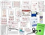 Komplett-Set Erste-Hilfe DIN 13157 EN 13 157 PLUS 3 für Betriebe mit Sprühpflaster, Notfallbeatmungshilfe & Verbandbuch incl.Alkoholtupfer + Pinzette