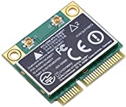 Diyeeni WiFi Card Dual Band 2.4G/5Ghz Network Card 433Mbps Bluetooth 4.2 WiFi Mini PCI-E Wireless Card,Compati