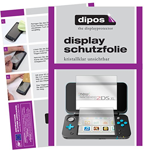 Dipos I 2X Protector Pantalla Compatible Nintendo