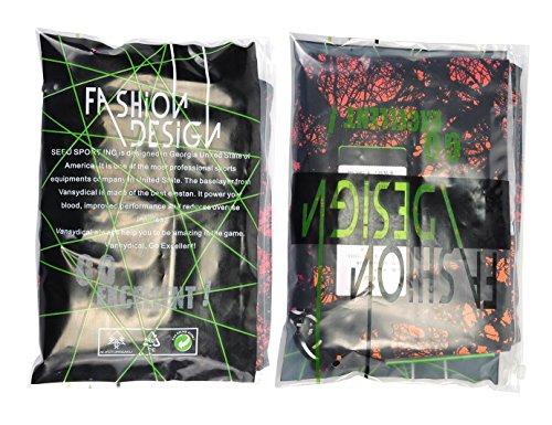 JIMMY DESIGN Damen Printed Sporthose Leggins – Funk Kunst - 5