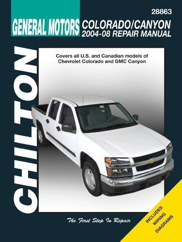 general-motors-chevrolet-colorado-canyon-2004-2008-repair-manual-chiltons-total-car-care-by-jay-stor