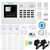 OWSOO 433MHz Wireless Auto-dial GSM SMS Alarm Security System LCD Display PIR Motion