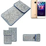 K-S-Trade® Protective Felt Case For Coolpad Cool S1