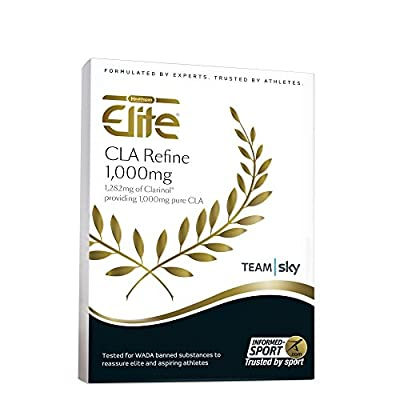 Healthspan Elite CLA Refine - Helps Towards Your Weight Management Goals - 1,000mg Pure CLA - 90 Capsules