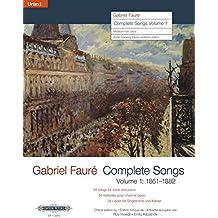 Complete Songs / Sämtliche Lieder: Ausgabe für Mittlere/Tiefe Stimme und Klavier