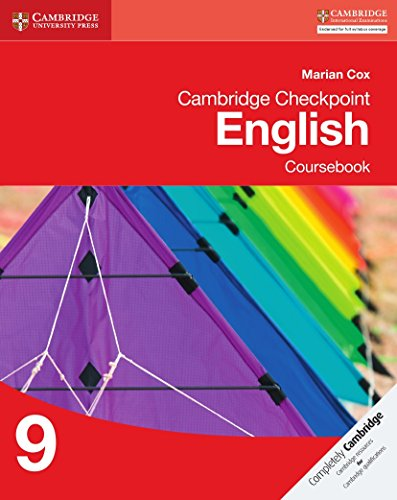 Cambridge Checkpoint English. Coursebook 9 (Cambridge International Examin)