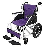 Sedie mediche Sedia a rotelle in lega di alluminio, cuscino quattro stagioni, anziani, portatori di handicap