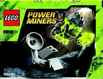 LEGO Power Miners Exclusive Mini Figure Set #8908 Monster Launcher (Lego Power Miner Sets)