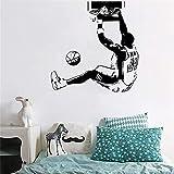 Stickers Muraux Nba Basketball Star Kobe Dunk Décor À La Maison Étudiant Dortoir Chambre Décoration Affiche