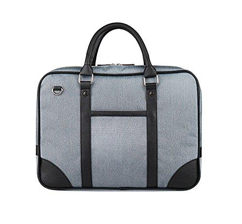wewod 14Inch Laptop Borsa/Business tasche per documento -- qualità Oxford panno/40* 5* 30cm, Blaue Jeans (multicolore) - D-02 Blaue Jeans
