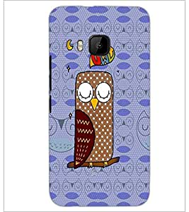 PrintDhaba cartoon D-2797 Back Case Cover for HTC ONE M9 (Multi-Coloured)