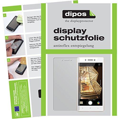 dipos I 6X Schutzfolie matt passend für Oppo Neo 7 Folie Bildschirmschutzfolie