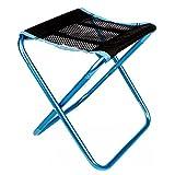 TRIWONDER Sgabello da campeggio portatile Outdoor pieghevole sedia da campeggio per Backpacking Pesca da trekking Giardino da giardino con sacco per il trasporto (Blu)