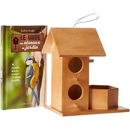 Le resto des oiseaux : Avec un nichoir-mangeoire et un livre