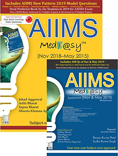 AIIMS MedEasy with Supplement (May 2015 to Nov. 2019)