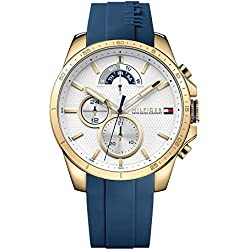 Tommy Hilfiger Analog White Dial Men's Watch