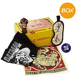 WOOTBOX Tyranny - Caja de Regalo - Bowser - Jafar - One Piece - Joker - Talla XL WTB-2019-003-FR-00F-00XL-000, Amarillo