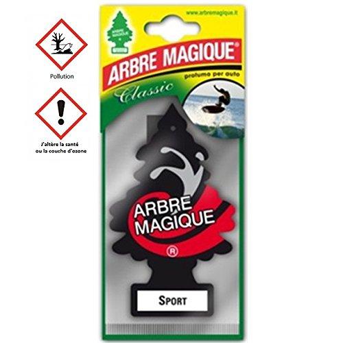 Arbre Magique Sport - Accessoire Désodorisant Voiture - 265