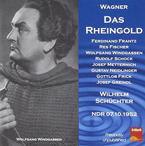 Wagner : Das Rheingold - Wilhelm Schüchter