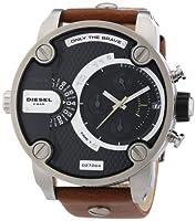 Reloj Diesel DZ7264 de cuarzo para hombre con correa de piel, color marrón de Diesel