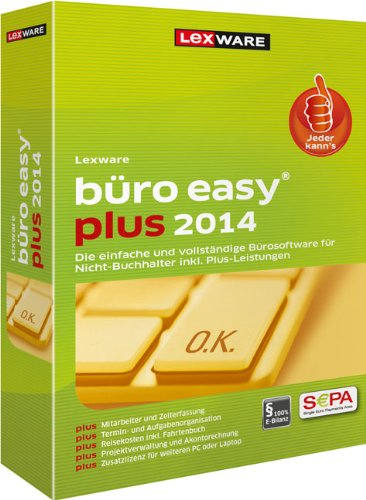 Preisvergleich Produktbild Lexware Büro Easy Plus 2014 Update (Version 9.00)