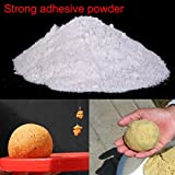 #2: SLB Works Sticky Powder Strong Adhesive Bait Additives for Fishing Carp Feeder Additives