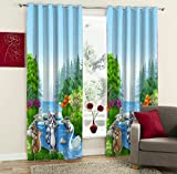 PVR Fashion™ Kids Digitally Printed Blackout Curtain Set - Best Reviews Guide