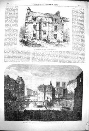Geburtsort-Edinburgh-Theater 1864 Davids Roberts Paris