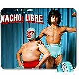 Sports Super Nacho Jack Black 1280x 1024Wallpaper Mouse Pad Computer Mousepad by Yellow Pad