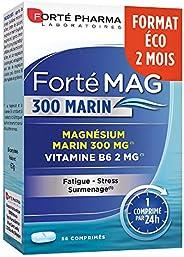 Forté Mag 300 Marin | Complément Alimentaire à base de Magnésium Marin et Vitamine B6 - Stress et Surmenage |