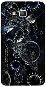 Timpax protective Armor Hard Bumper Back Case Cover. Multicolor printed on 3 Dimensional case with latest & finest graphic design art. Compatible with Samsung Galaxy Grand 2 - 7106/7105 Design No : TDZ-27801