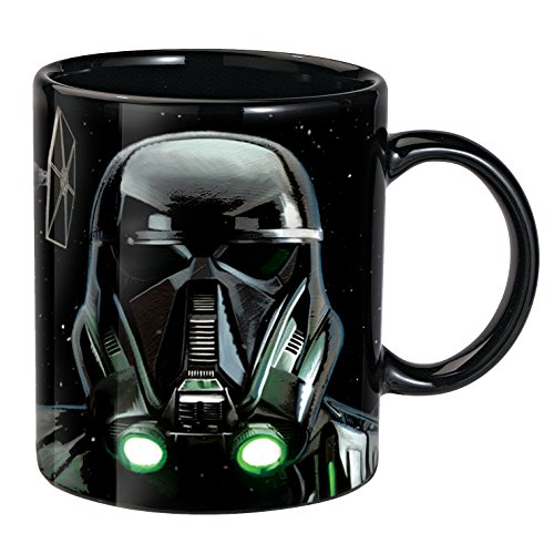 Death Trooper Thermoeffekt Tasse