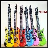 BeesClover PVC Gonflable Guitare 93cm gonflables Jouet Guitare Instrument Enfants Cadeau