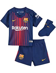 Nike FCB I NK Brt Kit HM Shirt Trikot 1. Linie FC Barcelona, Blau (Deep Royal Blue/University Gold), 9–12