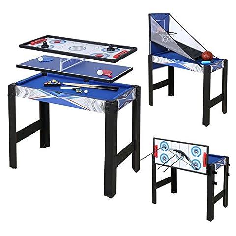 Table Multi Jeux 5 En 1 - HLC Multi Jeux Table 5 en 1