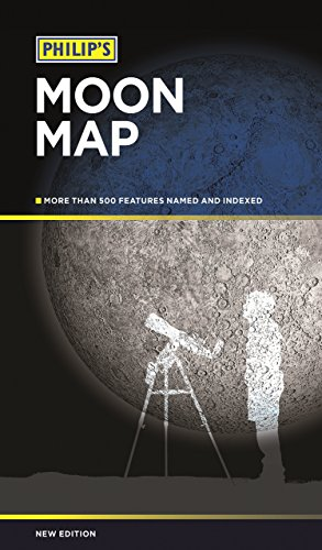 Philip's Moon Map by Dr John Murray (Illustrator) (1-Sep-2014) Paperback