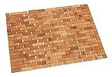 Badematte Saunamatte 40x60 cm Bamboo robust und praktisch