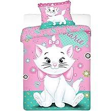 Jerry Fabrics 90876 Ropa de Cama para Niñas, Algodón, Rosa (Light pink), 200x140x3 cm