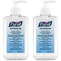 PURELL® Advanced Hygienisches Händedesinfektionsmittel – DOPPELPACK (2 x 300ml Pumpflasche) preisvergleich bei billige-tabletten.eu