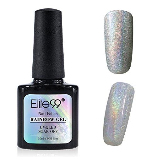 Elite99 UV Nagellack Nail Gel Polish Farbgel Nagelgel Regenbogen Effekt Gelish(1x Stueck)