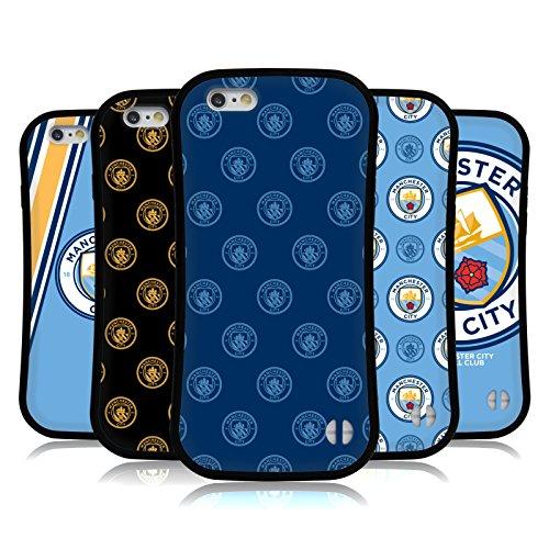 Officiel Manchester City Man City FC 2017/18 Insigne Étui Coque Hybride pour Apple iPhones Téléphones