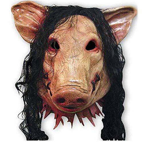 Horror Masken ks Neuheit Latex Creepy Horror Goonies Faultier Kopf Masken Gesicht schrecklich for Halloween-Kostüm-Party , One Size